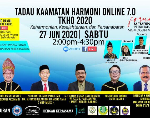 SAMBUTAN TADAU KAAMATAN HARMONI ONLINE 2020
